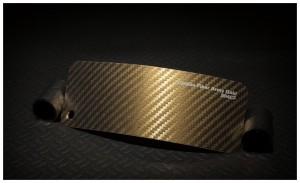 folia zmiana koloru auta carbon fiber army gold
