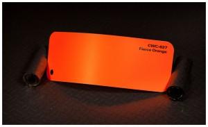 folia zmiana koloru auta fierce orange