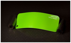 folia zmiana koloru auta focus green