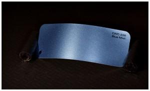 folia zmiana koloru auta blue mist