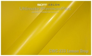 folia zmiana koloru auta lemon drop
