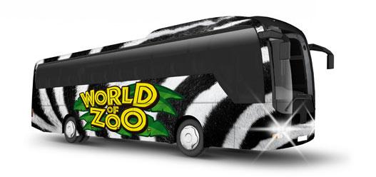 oklejanie autobusów wizualizacja